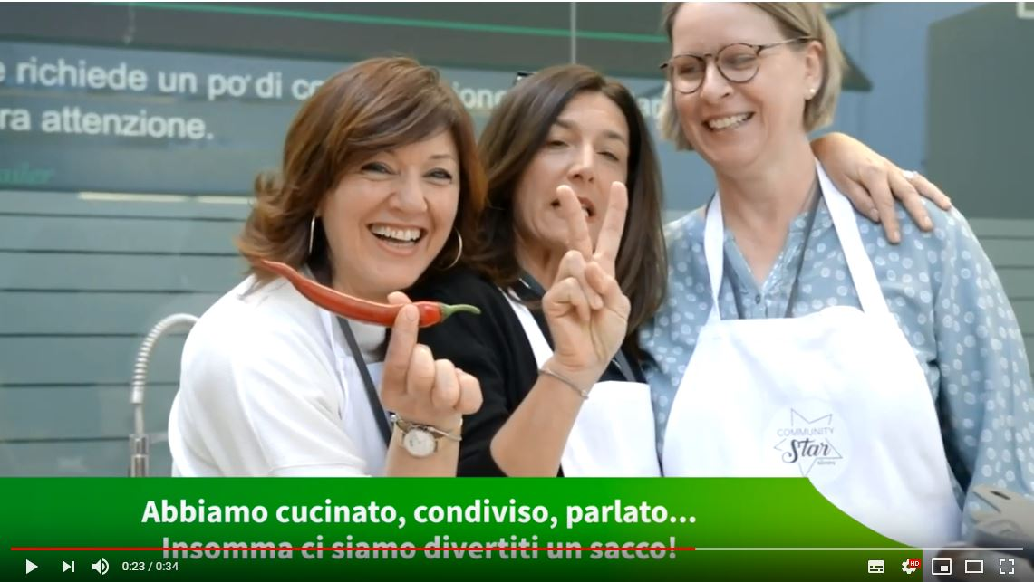 Guarda il video dell'evento Bimby® Community Star a Milano